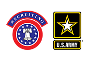 Logo: U.S. ARMY RECRUITING COMMAND
