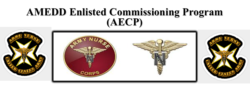 Amedd Enlisted Commissioning Program Aecp