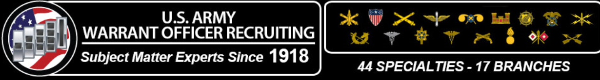 U S  Army Warrant Officer Recruiting